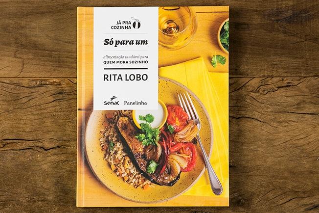 Livro Só para Um: alimentação saudável para quem mora sozinho