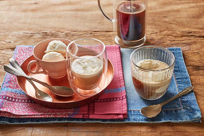 AFFOGATO (CAFÉ COM SORVETE)
